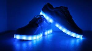 BlueLEDshoes
